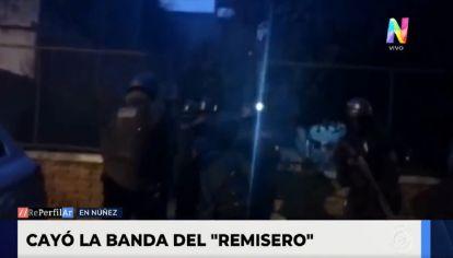 "Cayó ""la banda del remise"" en Núñez"