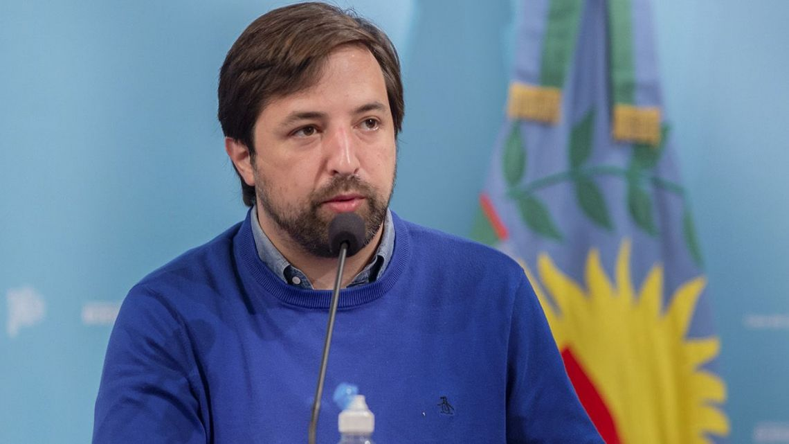 Buenos Aires Province Health Minister Nicolás Kreplak.