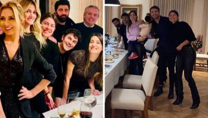 Stefanía Dominguez aparece en las fotos de la fiesta del cumpleaños 39 de Fabiola Yáñez. celebrada en la Quinta de Olivos en julio de 2020, cuando regía el aislamiento obligatorio en todo el país.