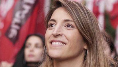 Manuela Castañeira, referente de Nuevo MAS y Las Rojas