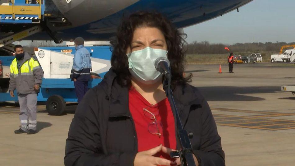 Carla Vizzotti, ministra de Salud