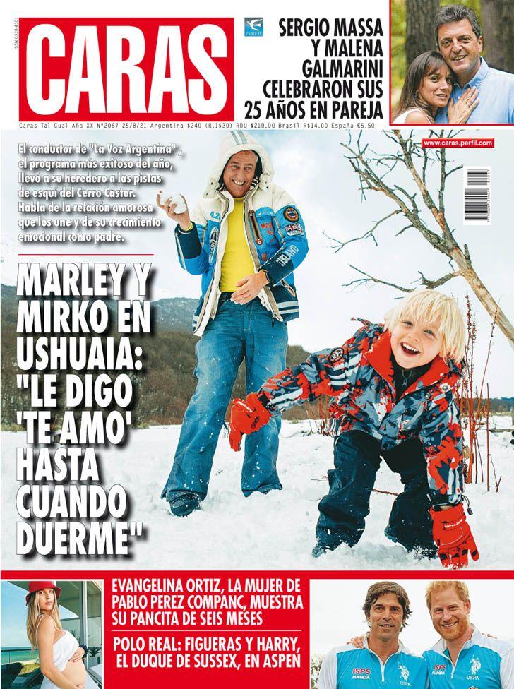 """Marley y Mirko en Ushuaia: """"Le digo te amo hasta cuando duerme"""""""