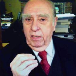 Jorge Fontevecchia en entrevista con el ex presidente de Uruguay, Julio María Sanguinetti.