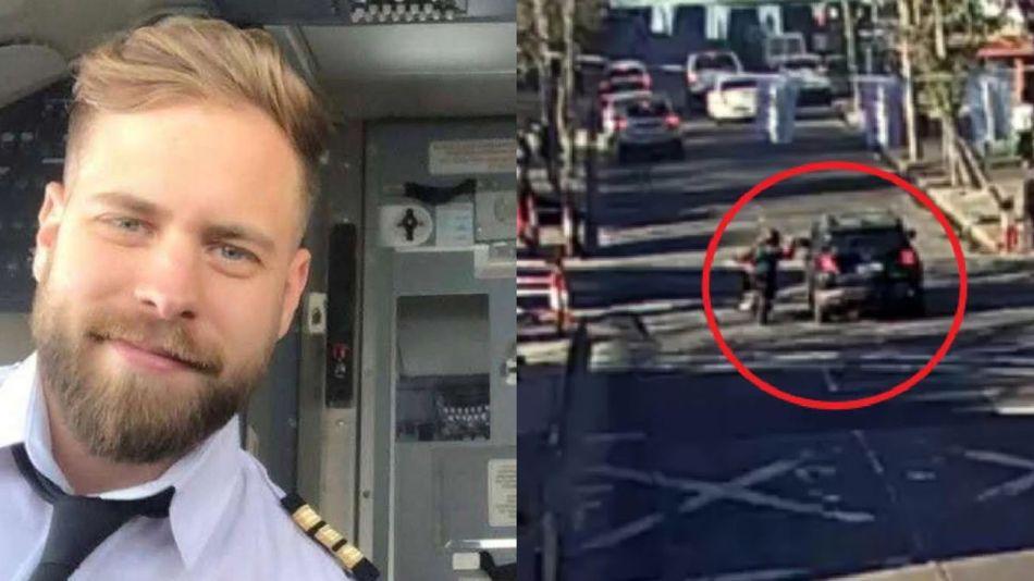 piloto de Aerolineas Argentinas que murio luego de ser atropellado  20210825