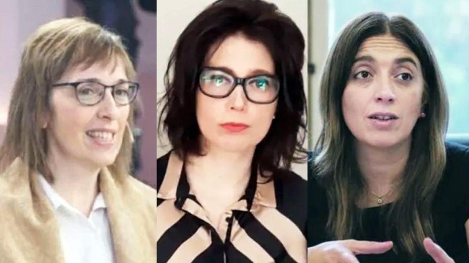 Sandra Pitta, Danya Tavella y Sabrina Ajmechet 20210825
