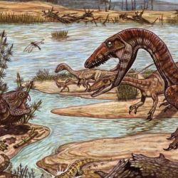 Tuvo su origen en el mismo momento que los dinosaurios, los cocodrilos, los pterosaurios y los mamíferos