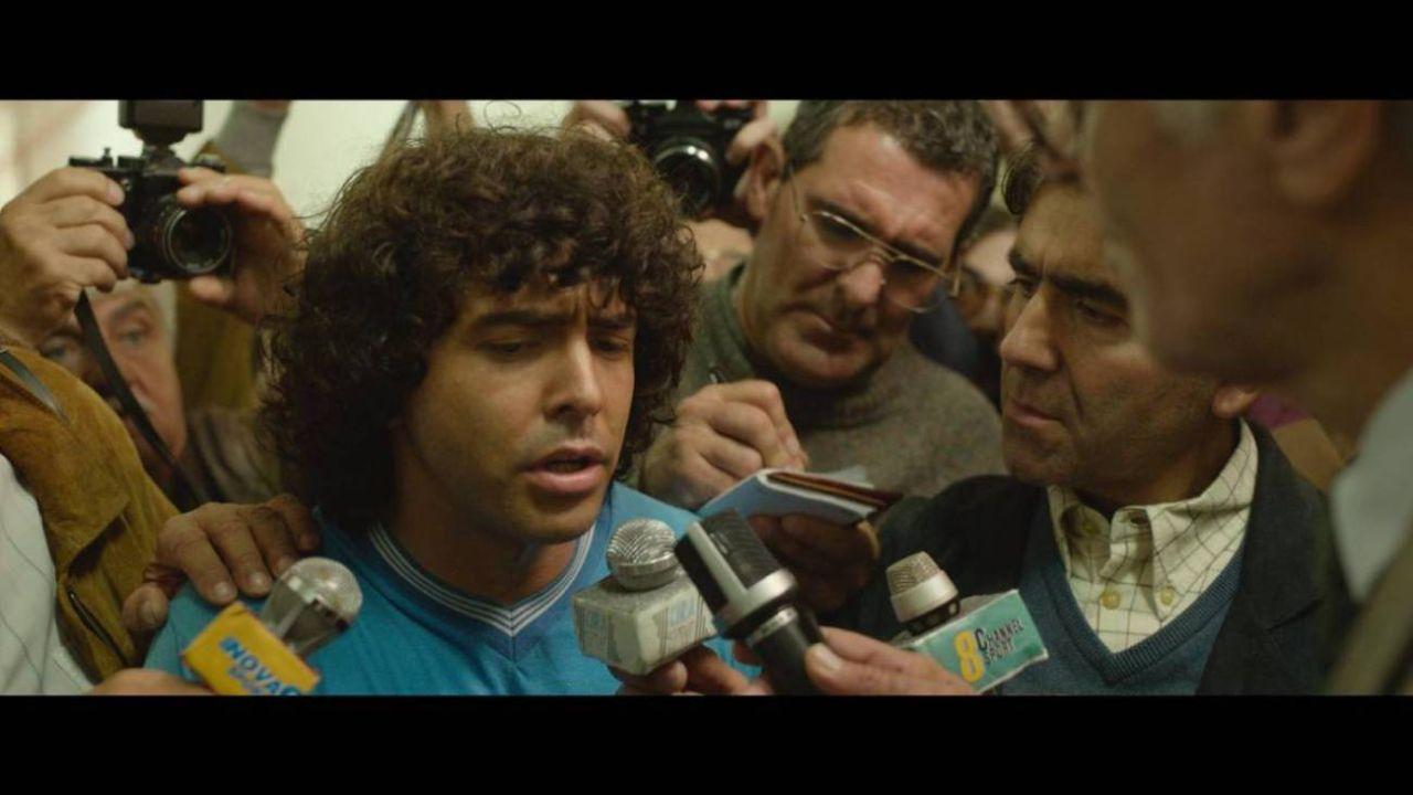 Maradona: Sueño bendito. | Foto:Amazon Prime Video