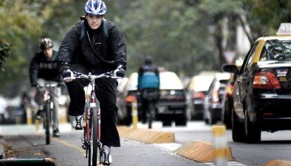 Un 10,2% del transporte en la Ciudad se realiza en bicicletas.