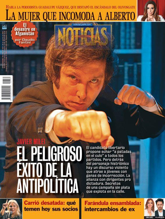 Tapa Nº 2331 | Javier Milei: El peligroso éxito de la antipolítica | Foto:Pablo Temes