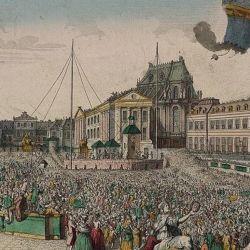 el 19 de septiembre de 1793 fueron especialmente invitados por el rey de Francia, Luis XVI, y por su esposa, María Antonieta, para realizar una demostración en el Palacio de Versalles.