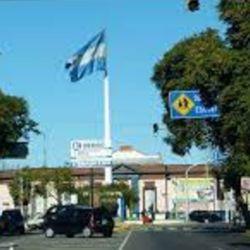 El centro de la ciudad de Merlo, hoy.
