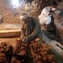 El hallazgo tuvo lugar en un cementerio para nobles de la necrópolis de Draa Abul Naga