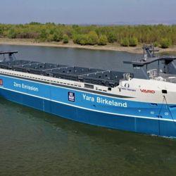Fue construido por la compañía noruega Yara International.