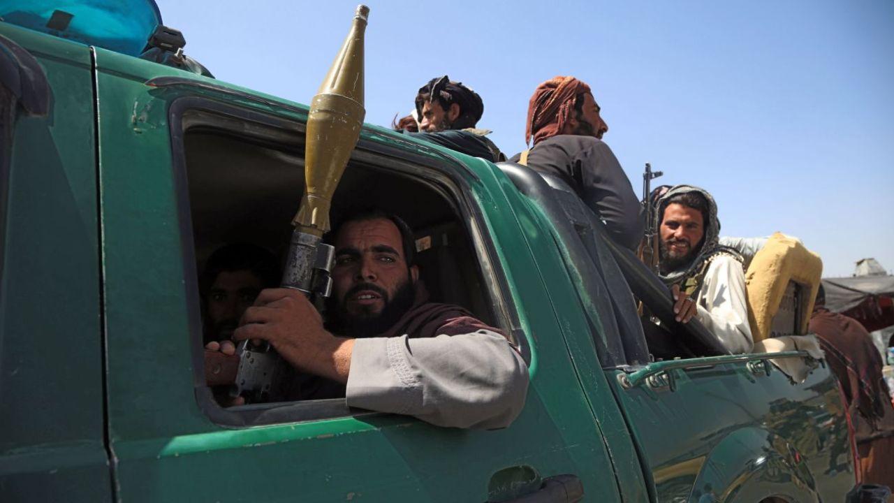 El ejército talibán.  | Foto:Xinhua