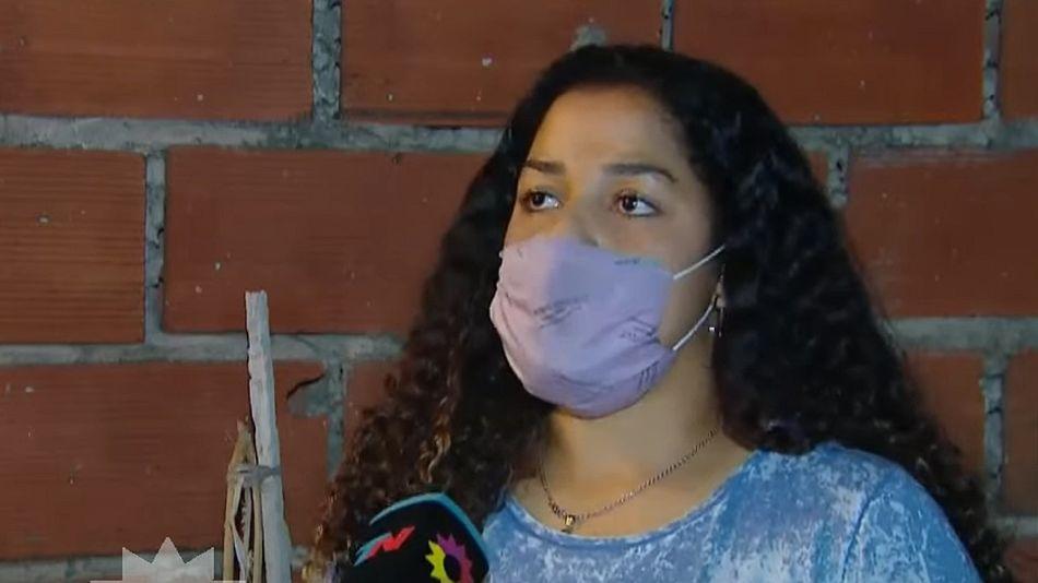 Soledad, madre del joven que debatió con la docente