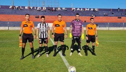 Las Palmas-Peñarol. En la mira de una empresa de apuestas.