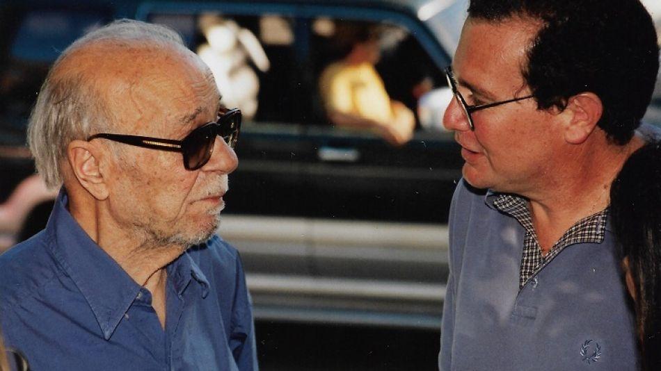 Ernesto Sábato y pedro Solans