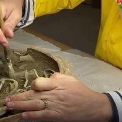 Los objetos hallados se encuentran en perfecto estado de conservación pese al paso de los años.os se ajlOS O