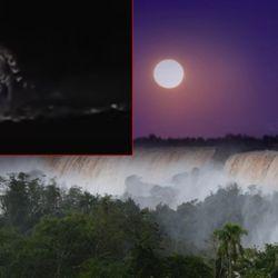 """El """"Paseo de la Luna Llena"""" es uno de los principales atractivos que ofrece el Parque Nacional Iguazú"""