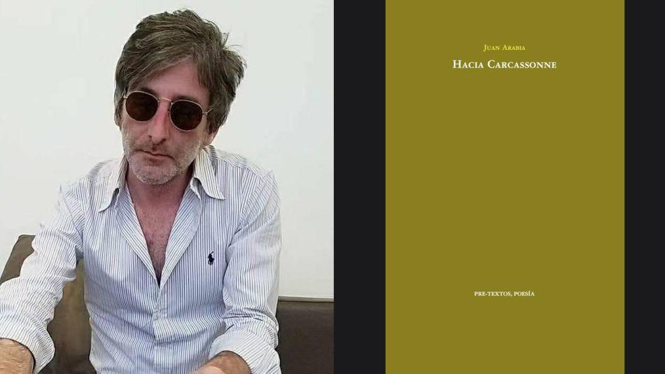 Juan Arabia, y su libro Hacia Carcassonne 20210830