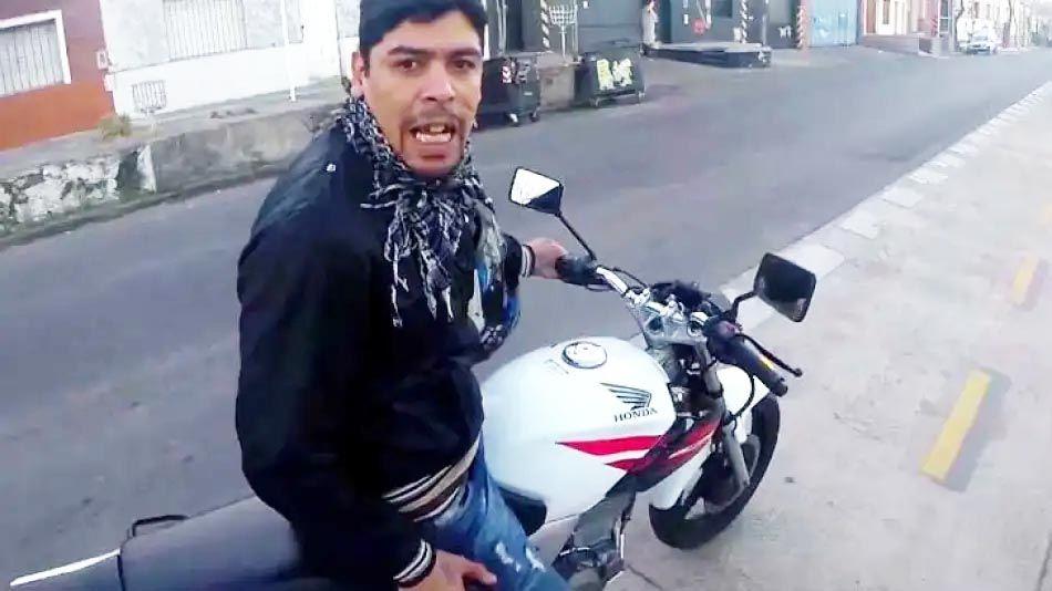 el motochorro de La Boca 20210831