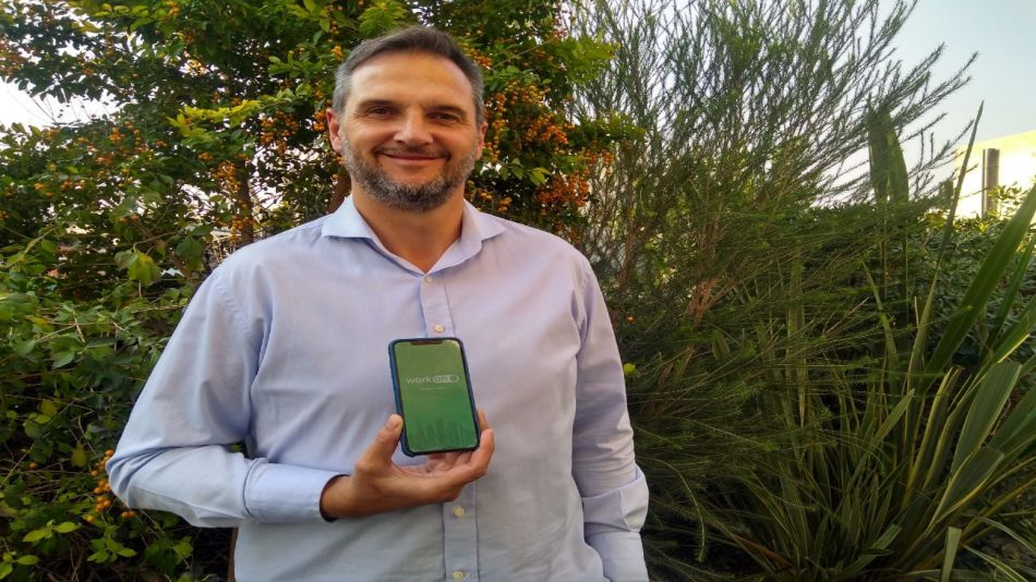 Fabio Boggino, fundador y CEO de WorkON