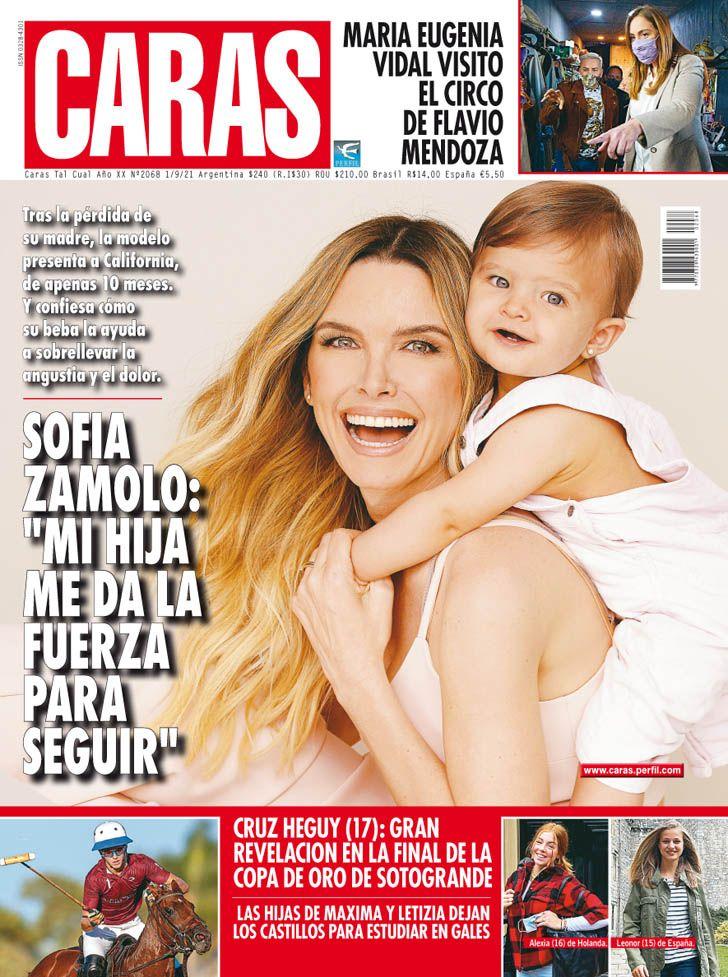 """Sofía Zámolo y su hija California: """"Mi hija me da la fuerza para seguir"""""""