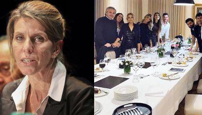 La Jueza Federal Sandra Arroyo Salgado con el asunto del festejo cumpleaños de Fabiola Yáñez en la Residencia de Olivos.