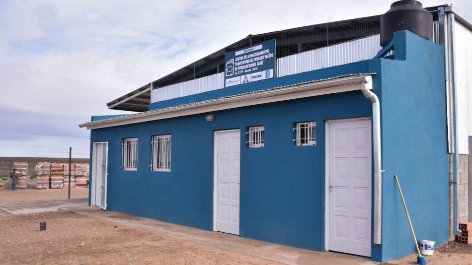 Centro de acopio de agroquímicos en Neuquen