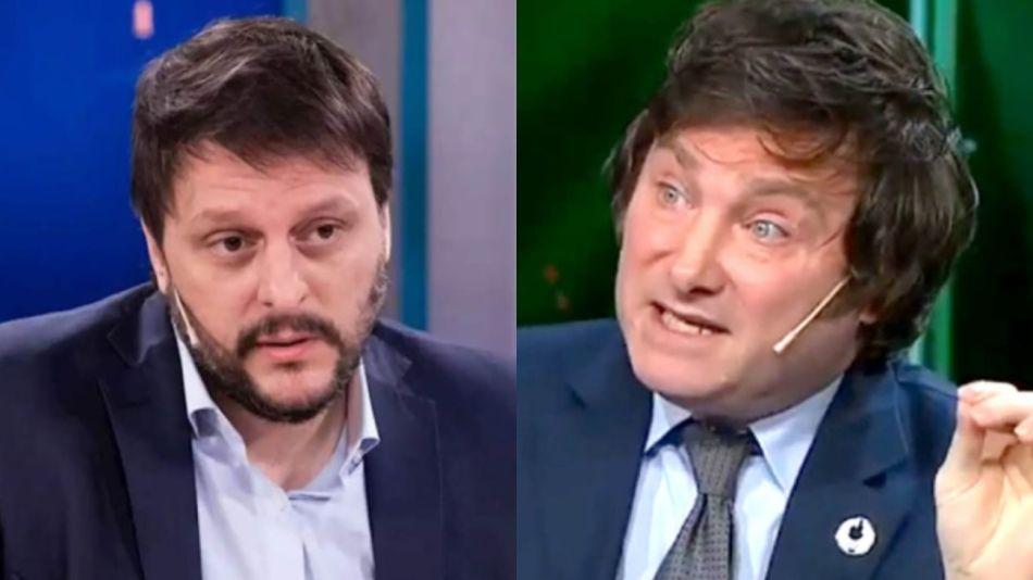 Leandro Santoro Javier Milei