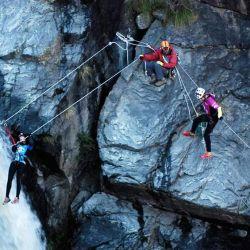 El circuito de cuerdas tendrá un formato de aventura que podría contar con una etapa de tirolesa y otra de puente mono o tibetano, y una escalada.