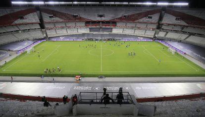 El estadio Monumental albergará el partido entre Argentina y Bolivia por la fecha de Eliminatorias rumbo a Qatar 2022. // NA