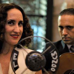 María Colloca y Carlos Ledrag, protagonistas de La Falcón.