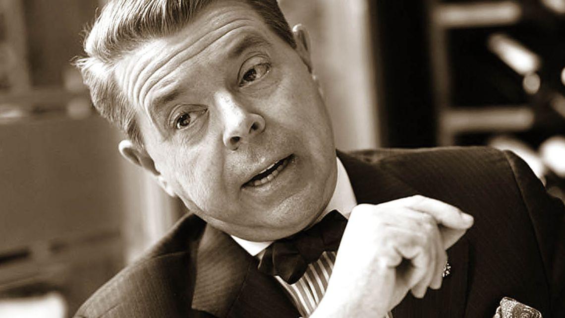 The late Norberto Oyarbide.