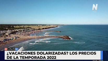 Vacaciones dolarizadas: los precios de la temporada 2022