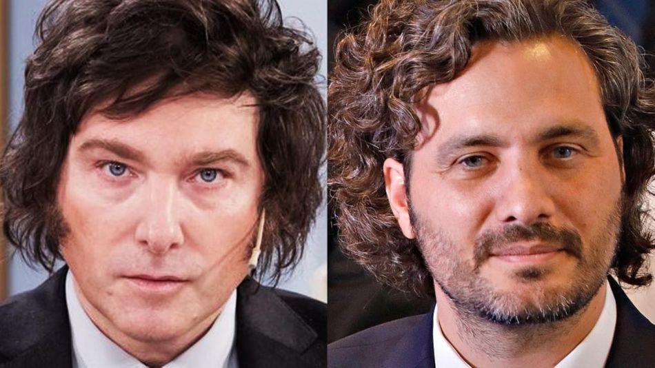 Javier Melei y Santiago Cafiero 20210903