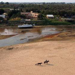 The Paraná, South America's second-longest river, has dropped to its lowest level since the 1940s, baffling experts and leaving environmentalists concerned.