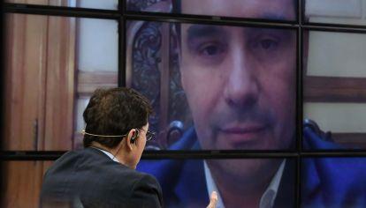 Gustavo Valdés, en la entrevista con Jorge Fontevecchia.
