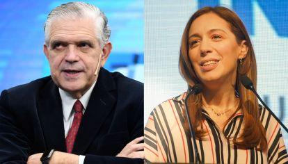 La interna porteña de Juntos: Ricardo López Murphy contra María Eugenia Vidal.