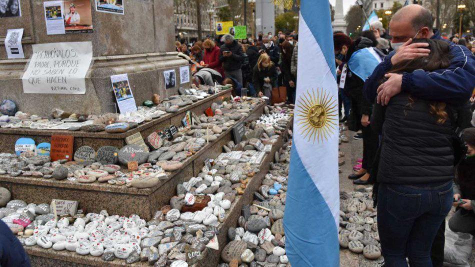 Plaza de Mayo Marcha de las Piedras g_20210904