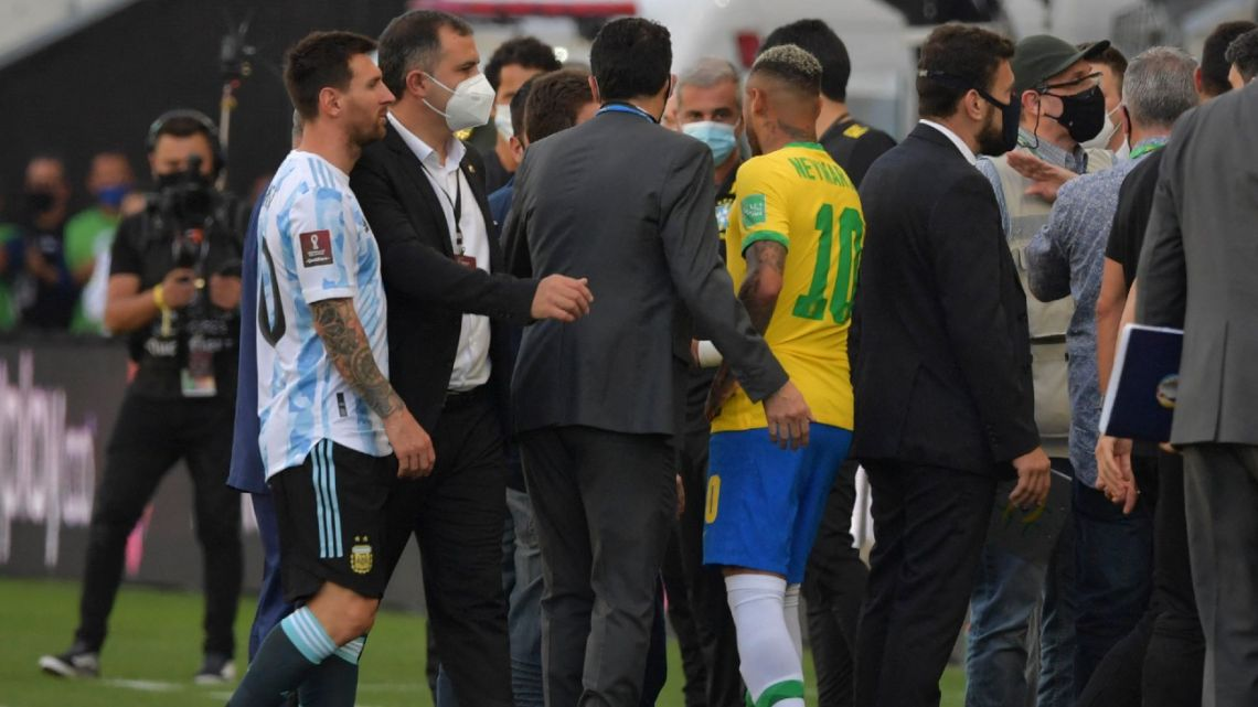 Messi annoyed with Brazil Convid 19 Officials over Brazil vs Argentina match halt