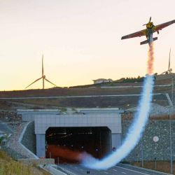 Denominada Tunnel Pass, la prueba fue el desafió más complejo al que Costa hizo frente hasta el momento.