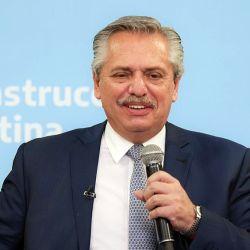Alberto Fernández define el cierre de campaña.