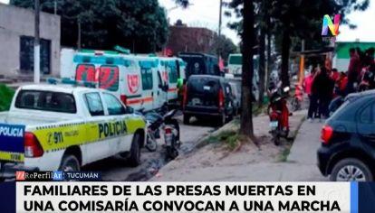 Incendio en Tucumán: cuatro mujeres murieron abrazadas en una comisaría