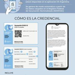 La app Mi Argentina será el medio de que los viajeros puedan demostrar en migraciones que han sido inoculados contra el coronavirus.