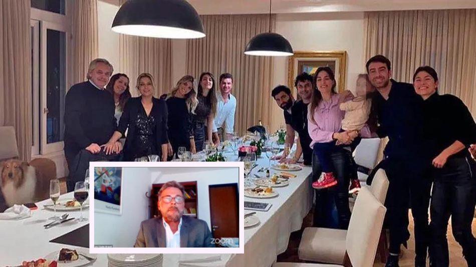 El cumpleaños de Fabiola Yáñez y Lino Mirabelli 20210907
