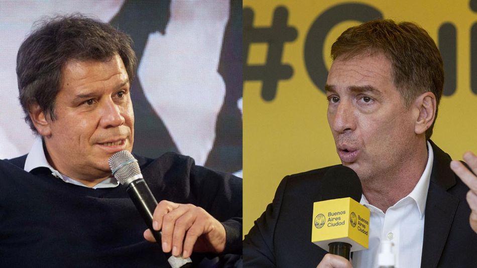 Facundo Manes y Diego Santilli 20210907