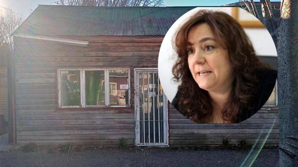 La vivienda de la polémica y la jueza Valeria López Lestón