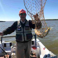 Sin dudas el Guazú y el Bravo están con una muy buena oferta de pesca variada de embarcado.