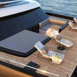 El Sunreef Power Eco 60 tiene capacidad para acoger hasta 12 invitados a bordo.